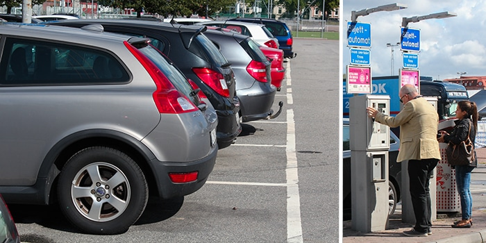 Heden Goteborg Karta.Parkering Pa Heden Avenyn I Goteborg